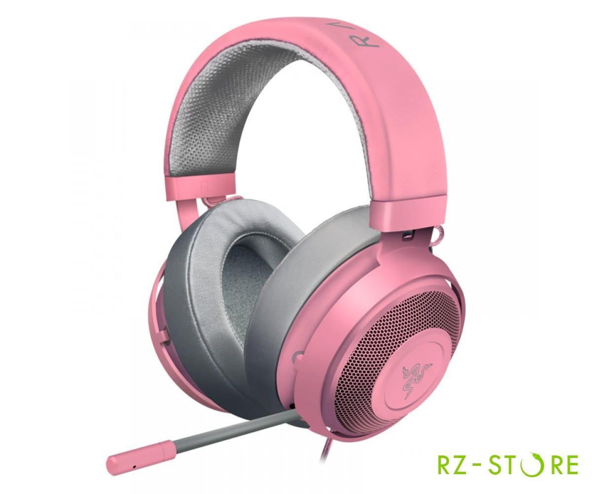 Kraken Pro V2 Oval Quartz Pink RZ04-02050900-R3M1 в фирменном магазине Razer