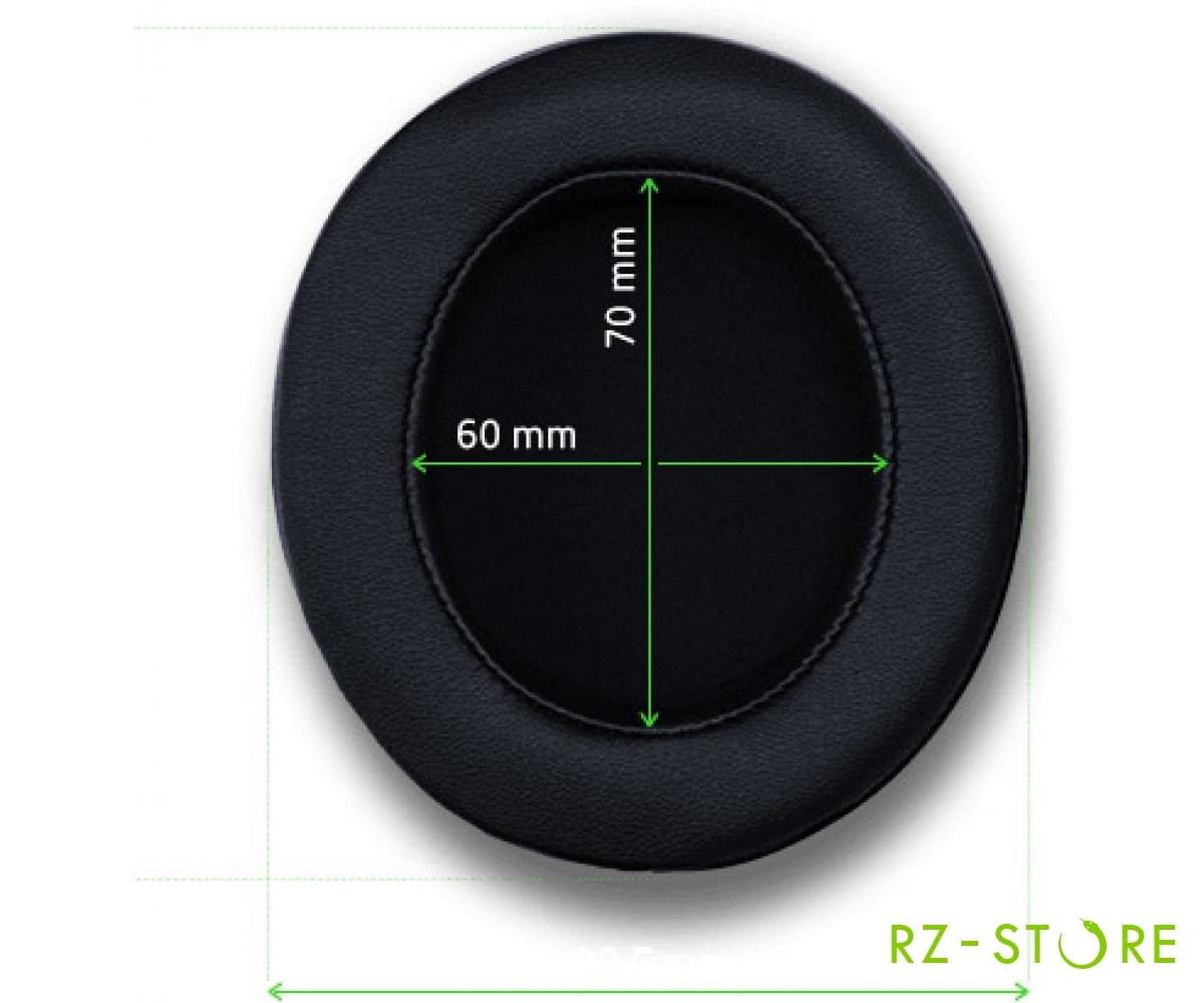 для Kraken V2 (Oval) Ear Cushion Cooling-Gel Infused Cloth RC30-02050400-R3M1 в фирменном магазине Razer