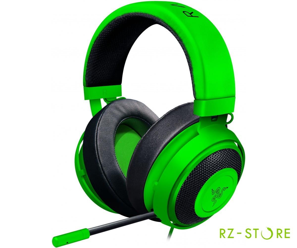Kraken Pro V2 Oval Green RZ04-02050600-R3M1 в фирменном магазине Razer