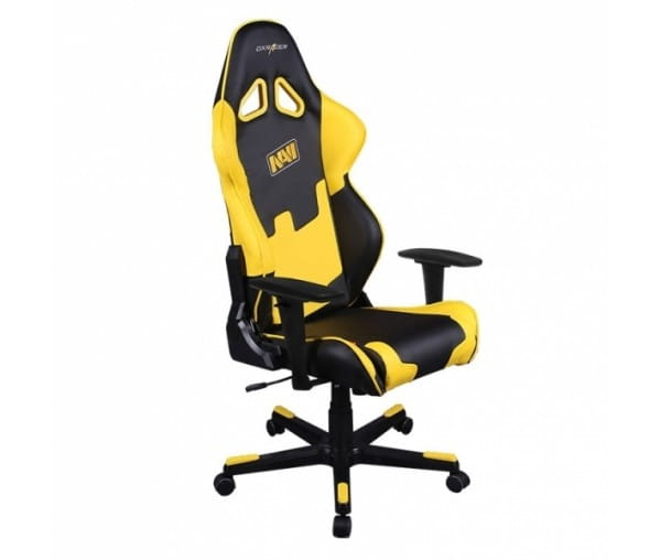 Игровое кресло DXRacer Special Edition OH/RE21/NY/NAVI (Black/Yellow)