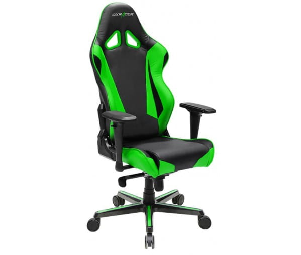 Игровое кресло DXRacer Racing OH/RV001/NE (Black/Green)