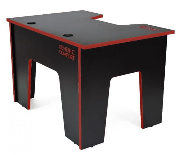 Компьютерный стол Generic Comfort Office/N/R (Black/Red)