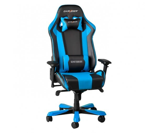Игровое кресло DXRacer King OH/KS06/NB (Black/Blue)