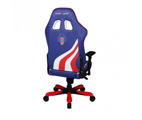 Игровое кресло DXRacer Special Edition OH/KS186/IWR/USA3 (Indigo/White/Red)