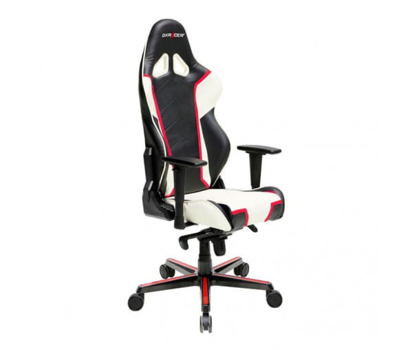 Игровое кресло DXRacer Racing OH/RH110/NWR (Black/White/Red)