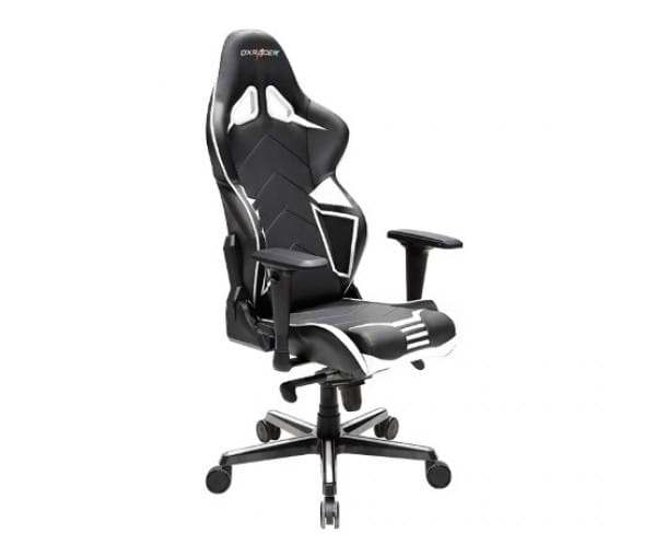Игровое кресло DXRacer Racing OH/RV131/NW (Black/White)