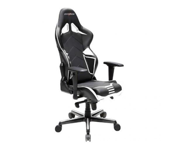 Игровое кресло DXRacer Racing OH/RV131/NW (Black/White)