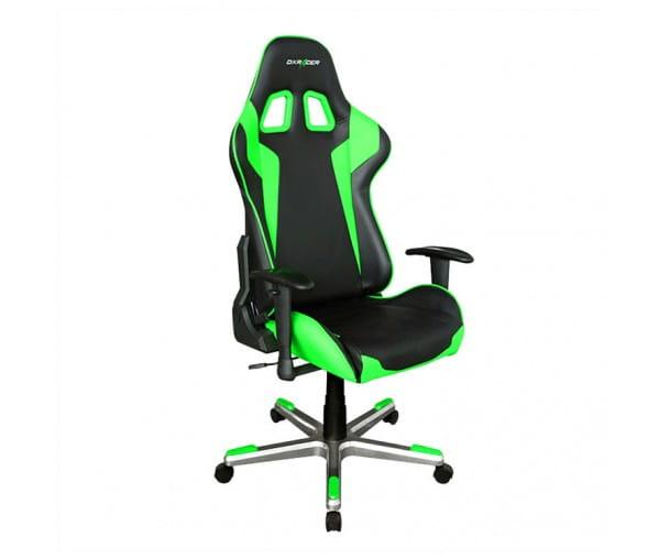 Игровое кресло DXRacer Formula OH/FL00/NE (Black/Green)