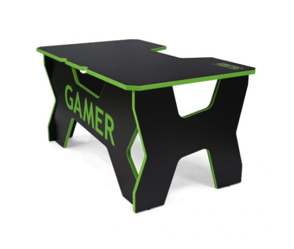 Геймерский стол Generic Comfort Gamer2/NE (Black/Green)