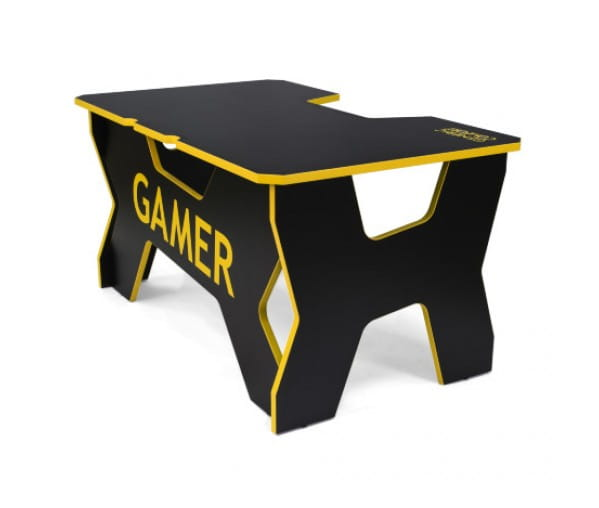 Геймерский стол Generic Comfort Gamer2/DS/NY (Black/Yellow)