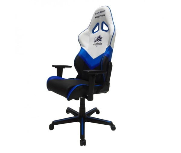 Игровое кресло DXRacer Special Edition OH/RZ32/WNB (Black/White/Blue)