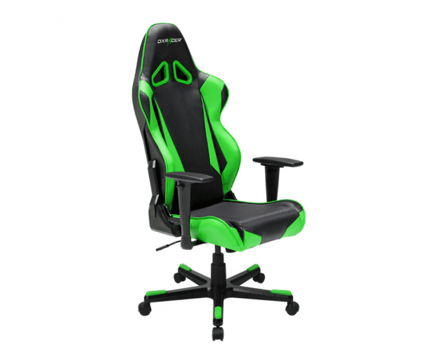 Игровое кресло DXRacer Racing OH/RB1/NE (Black/Green)