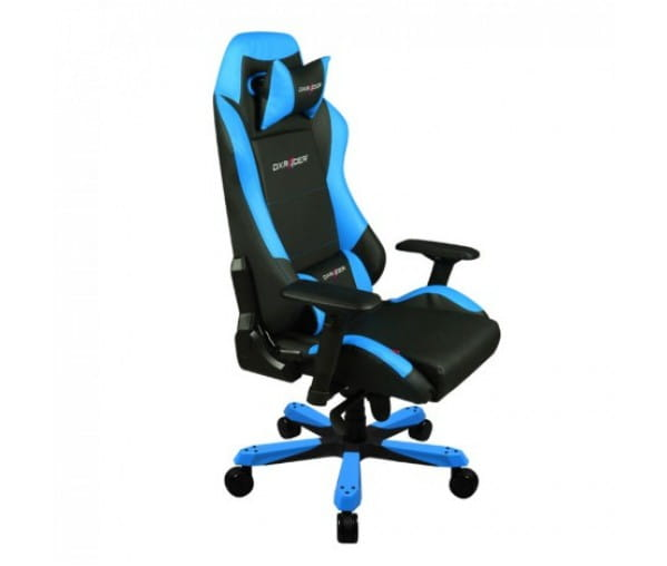 Игровое кресло DXRacer Iron OH/IS11/NB (Black/Blue)