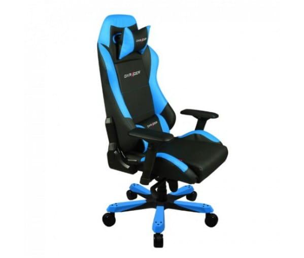 Игровое кресло DXRacer Iron OH/IS11/NB (Black/Blue)
