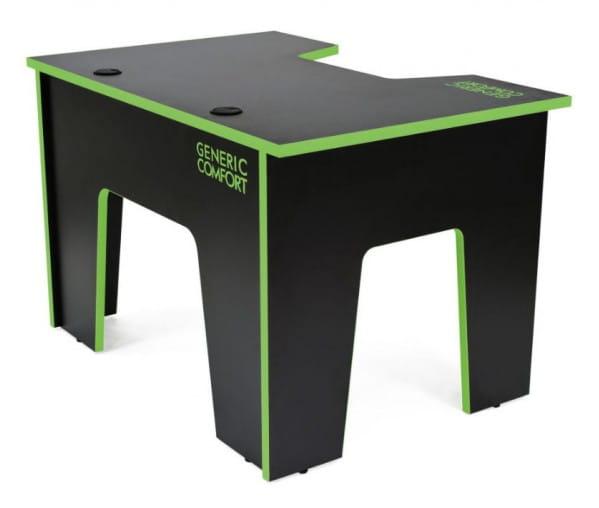 Компьютерный стол Generic Comfort Office/N/E (Black/Green)