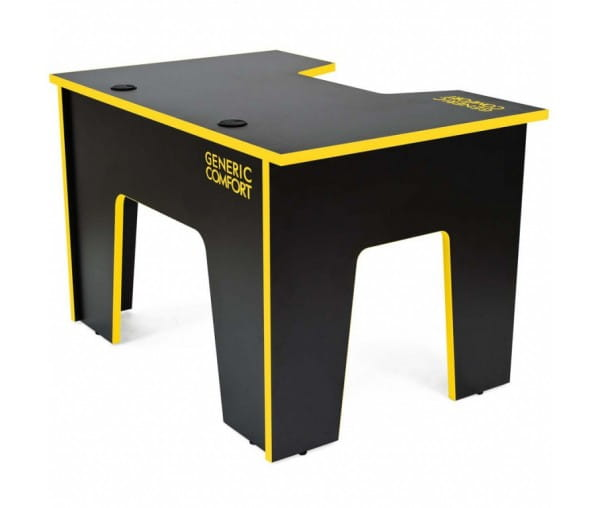 Компьютерный стол Generic Comfort Office/N/Y (Black/Yellow)