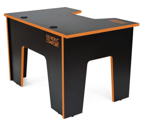 Компьютерный стол Generic Comfort Office/N/O (Black/Orange)