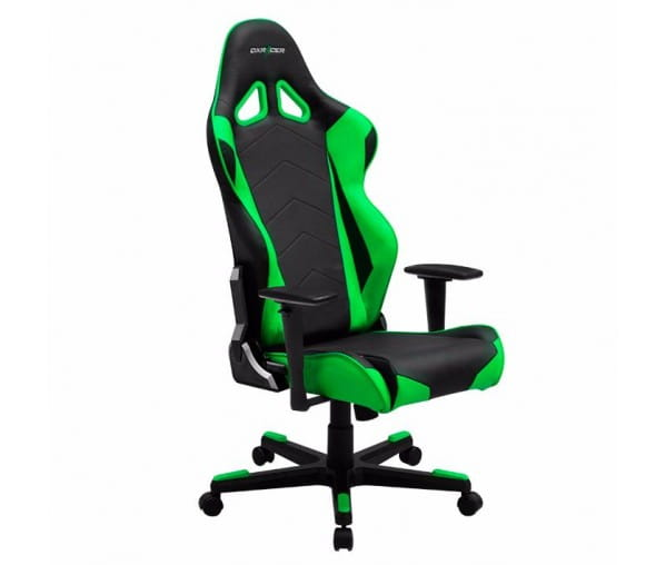 Игровое кресло DXRacer Racing OH/RZ0/NE (Black/Green)