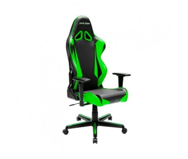 Игровое кресло DXRacer Racing OH/RM1/NE (Black/Green)