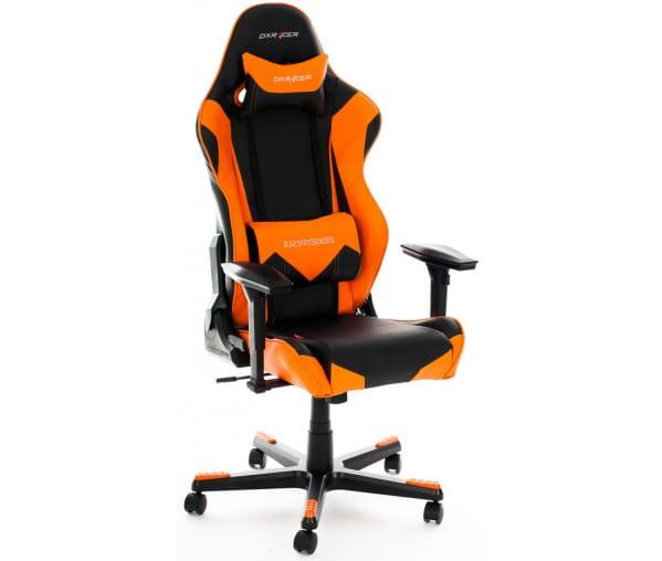 Игровое кресло DXRacer Racing OH/RE0/NO (Black/Orange)