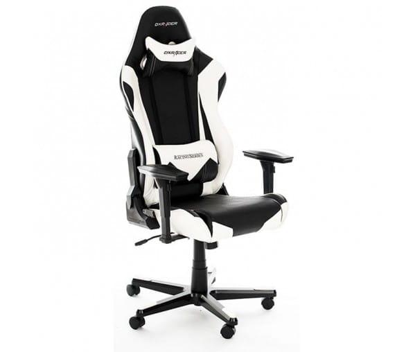 Игровое кресло DXRacer Racing OH/RE0/NW (Black/White)