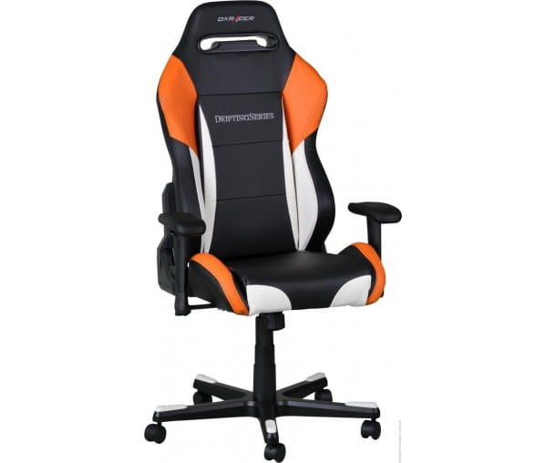 Игровое кресло DXRacer Drifting OH/DM61/NWO (Black/White/Orange)