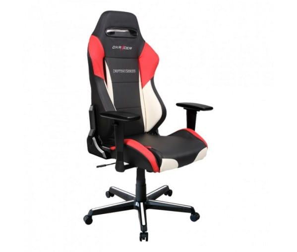 Игровое кресло DXRacer Drifting OH/DM61/NWR (Black/White/Red)