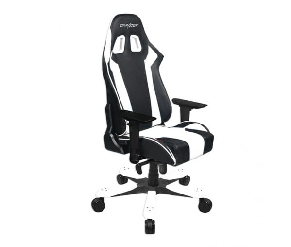 Игровое кресло DXRacer King OH/KS06/NW (Black/White)