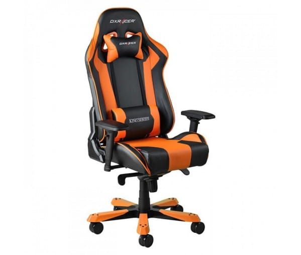 Игровое кресло DXRacer King OH/KS06/NO (Black/Orange)