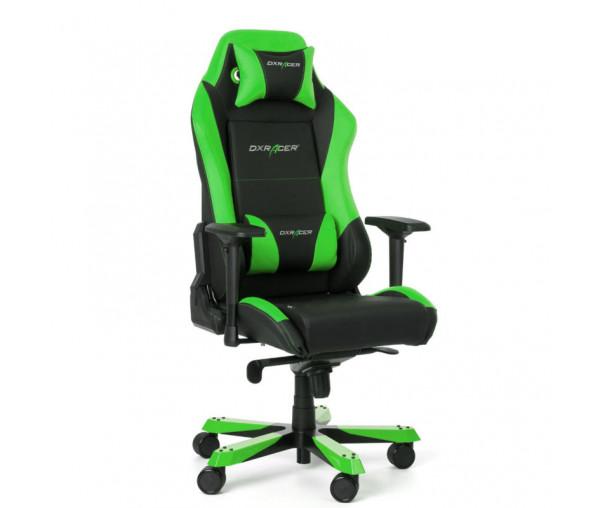 Игровое кресло DXRacer Iron OH/IS11/NE (Black/Green)