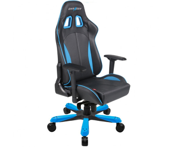 Игровое кресло DXRacer King OH/KS57/NB (Black/Blue)