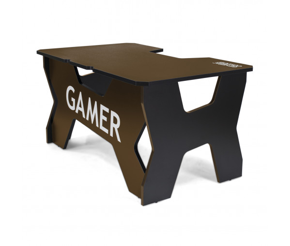 Геймерский стол Generic Comfort Gamer2/NC (Black/Brown)