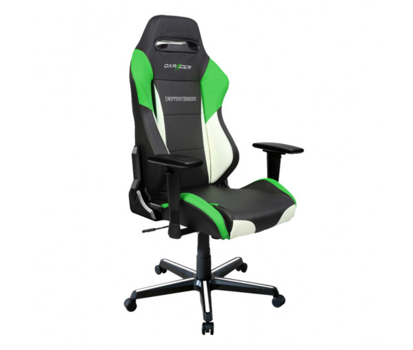 Игровое кресло DXRacer Drifting OH/DM61/NWE (Black/White/Green)