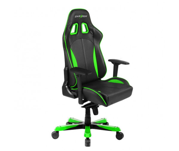 Игровое кресло DXRacer King OH/KS57/NE (Black/Green)