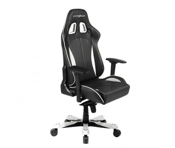 Игровое кресло DXRacer King OH/KS57/NW (Black/White)