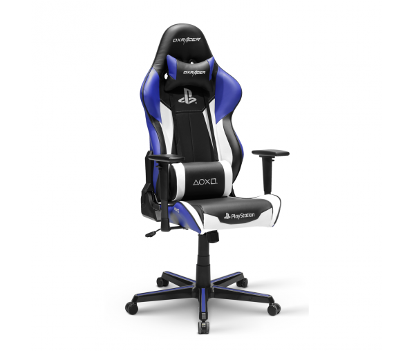 Игровое кресло DXRacer Racing OH/RZ90/INW (Black/Whit/Blue)