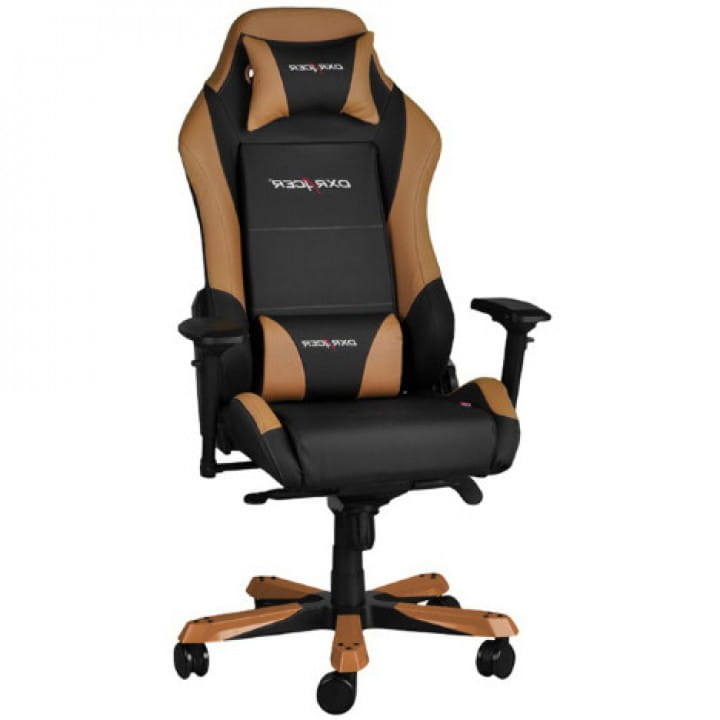Игровое кресло DXRacer Iron OH/IS11/NC (Black/Brown)