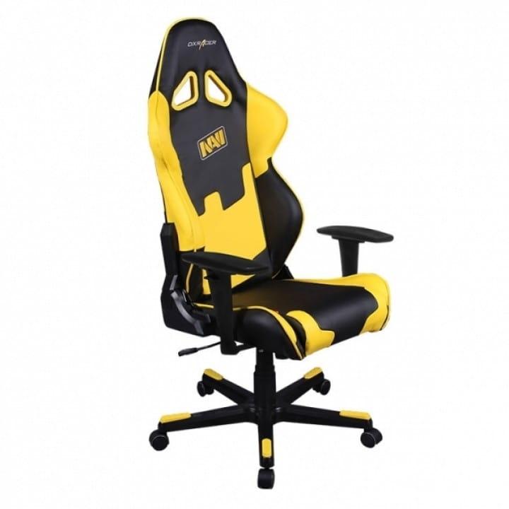 Игровое кресло DXRacer Special Edition OH/RE21/NY/NAVI (Black/Yellow)