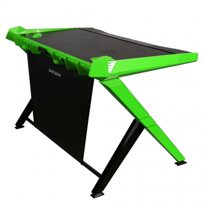 Геймерский стол DXRacer Gaming Desk GD/1000/NE (Black/Green)