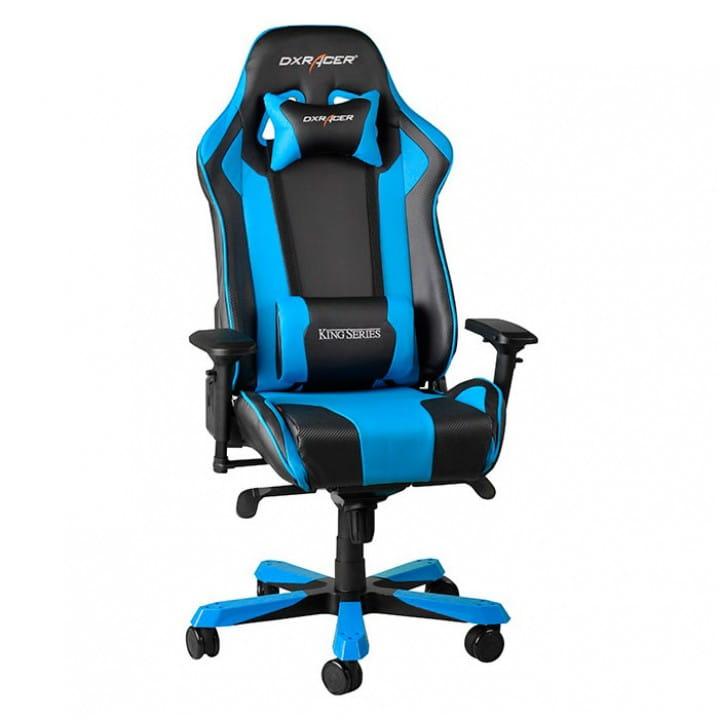 Игровое кресло DXRacer King OH/KS06/NB (Black/Blue)