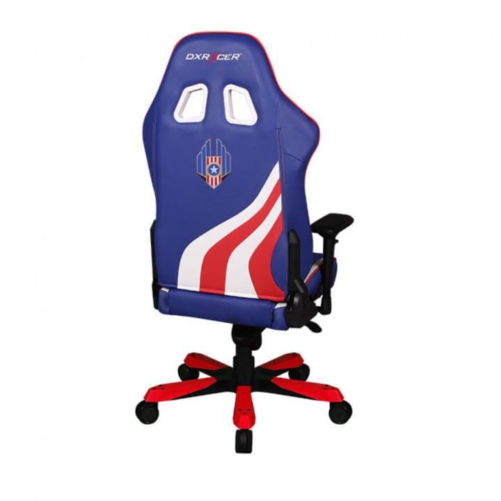 Игровое кресло DXRacer Special Edition OH/KS186/IWR/USA3 (Indigo/White/Red)