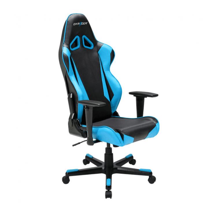 Игровое кресло DXRacer Racing OH/RB1/NB (Black/Blue)