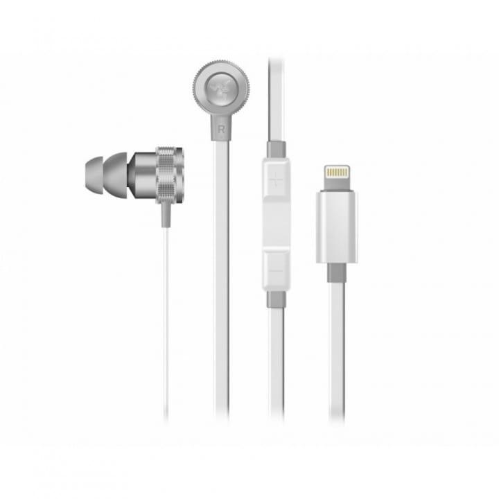 Наушники Razer Hammerhead for iOS Mercury White