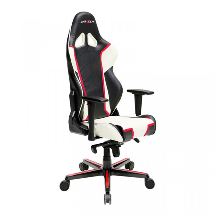Игровое кресло DXRacer Racing OH/RH110/NWR (Black/White/Red)