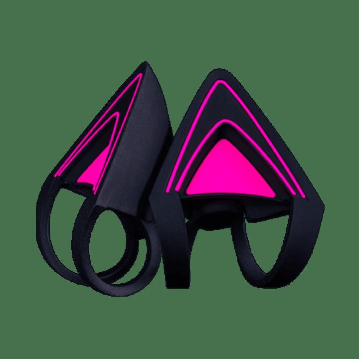 Насадки для наушников Razer Kitty Ears Neon Purple
