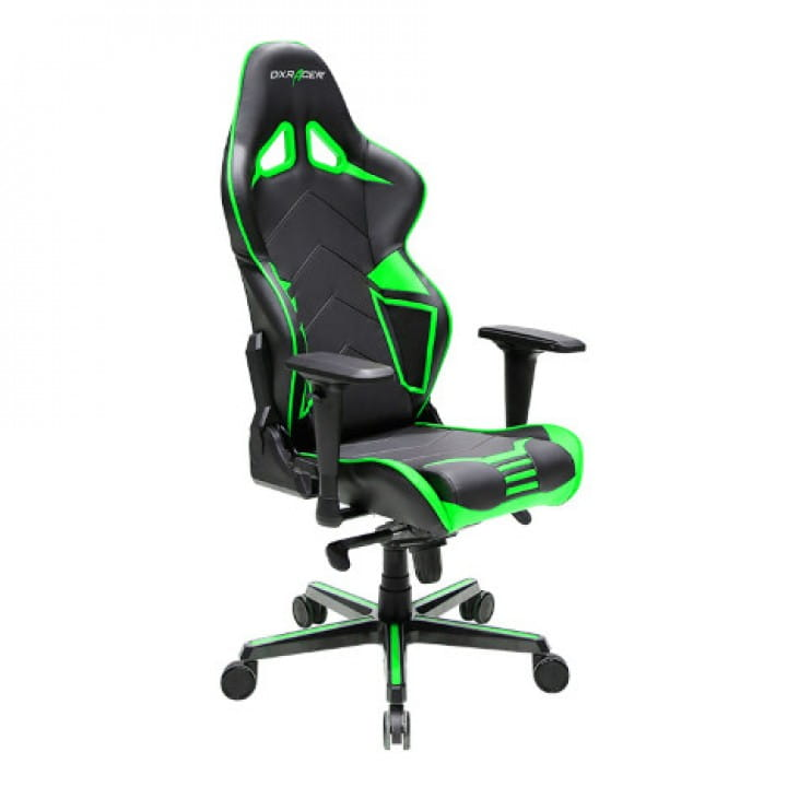Игровое кресло DXRacer Racing OH/RV131/NE (Black/Green)