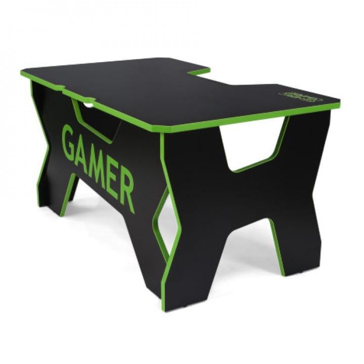 Геймерский стол Generic Comfort Gamer2/NE (Black/Green)