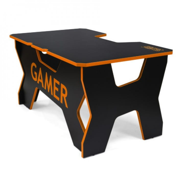 Геймерский стол Generic Comfort Gamer2/NO (Black/Orange)