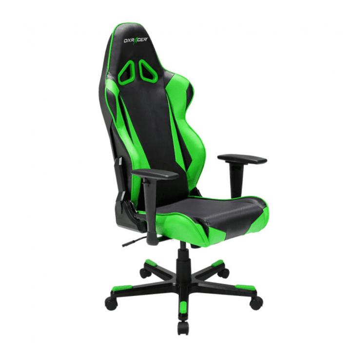 Игровое кресло DXRacer Racing OH/RB1/NE (Black/Green)