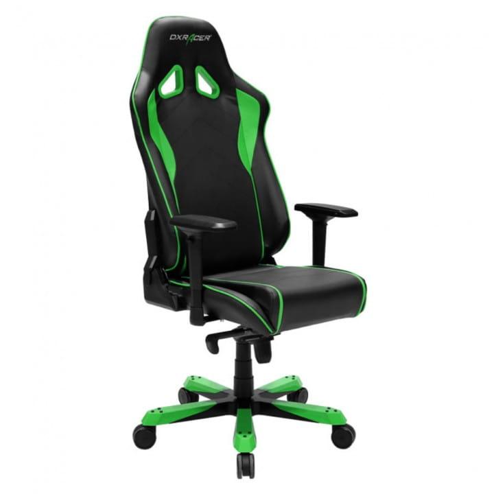 Игровое кресло DXRacer Sentinel OH/SJ08/NE (Black/Green)